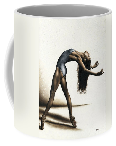Dance Coffee Mug featuring the painting Invitation to Dance by Richard Young
