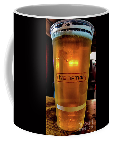 Ipa Beer Coffee Mug featuring the photograph Ipa Beer In Live Nation Cup At Shoreline Amphitheatre During Dead And Company by David Oppenheimer