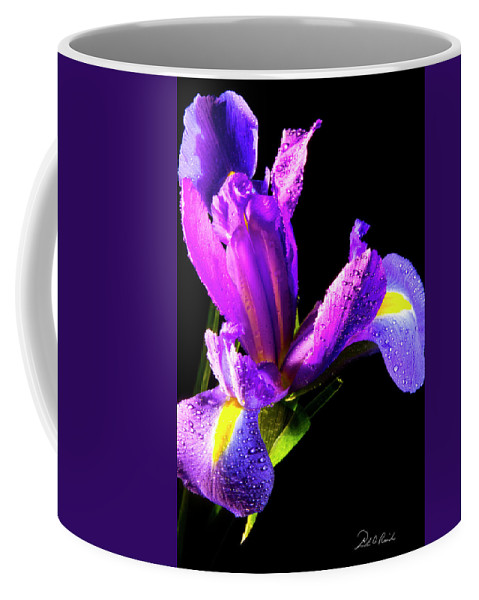Color Coffee Mug featuring the photograph Iris Bloom One by Frederic A Reinecke