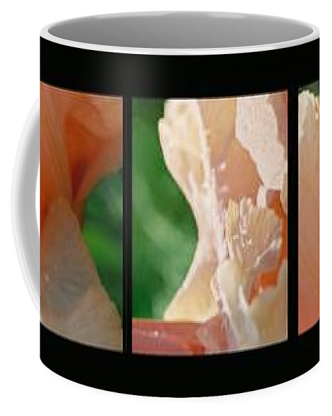 Abstract Coffee Mug featuring the photograph Iris by Steve Karol