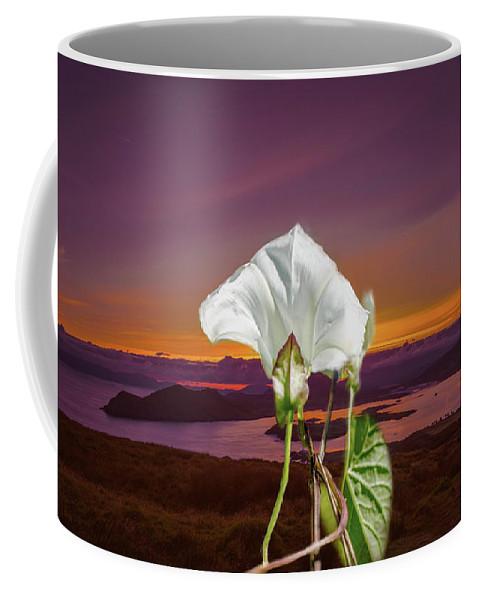 Bindweed Coffee Mug featuring the photograph Irish Mix. by Leif Sohlman