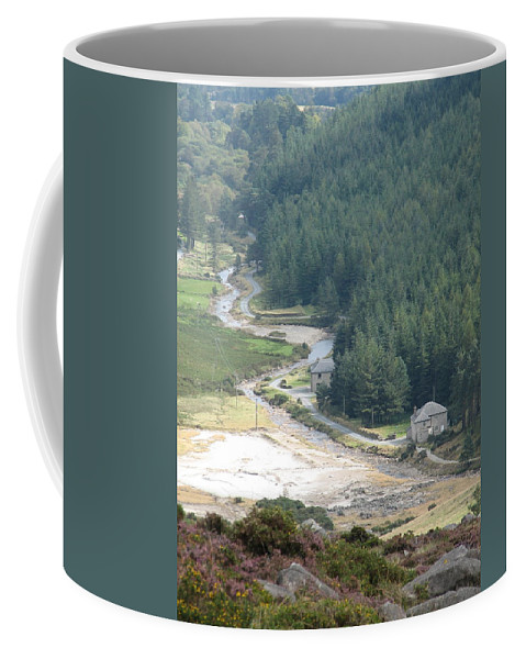 Ireland Coffee Mug featuring the photograph Irish Valley by Kelly Mezzapelle