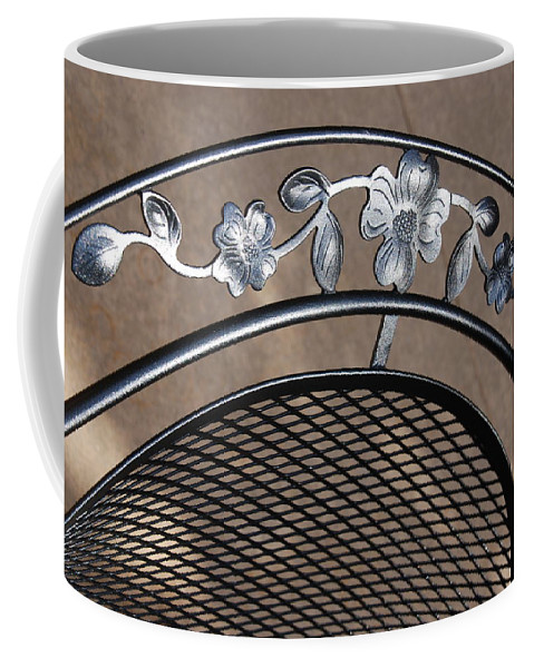 Photography Coffee Mug featuring the photograph Iron Art Work by Susanne Van Hulst
