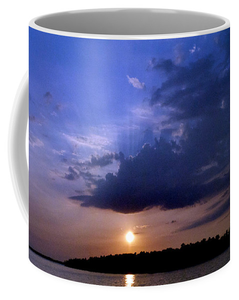 Scenic Tours Coffee Mug featuring the photograph Island Peace by Skip Willits