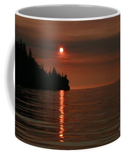 Ocean Coffee Mug featuring the photograph Island Sunset by Rick Monyahan