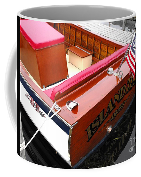 Chris Craft Coffee Mug featuring the photograph Island Time by Neil Zimmerman