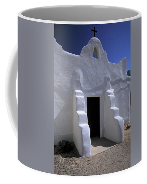 Adobe Coffee Mug featuring the photograph Isleta by Jerry McElroy