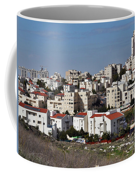 Israel Coffee Mug featuring the photograph Israel Modiin by Moshe Torgovitsky