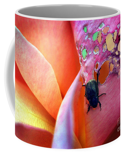 Scenics Coffee Mug featuring the photograph It Bugged Me by Norman Andrus