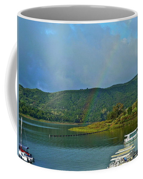 Lake Coffee Mug featuring the photograph It Does Not Get Any Better by Diana Hatcher