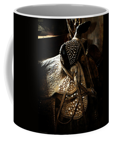 Texture Coffee Mug featuring the photograph It Is The Way You Ride by Lucinda Walter