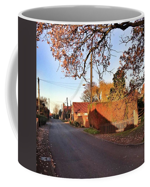 Kingslynn Coffee Mug featuring the photograph It Looks Like We've Found Our New Home by John Edwards