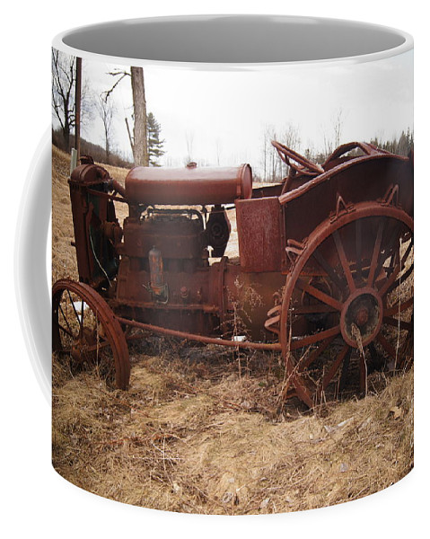 Old Trackers Coffee Mug featuring the photograph It May Start by Jeffery L Bowers