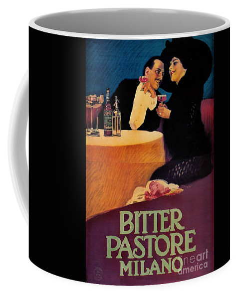 Italian Bitters Ad 1913 Coffee Mug featuring the photograph Italian Bitters Ad 1913 by Padre Art