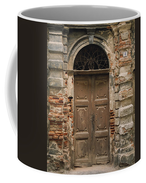 Europe Coffee Mug featuring the photograph Italy - Door Four by Jim Benest