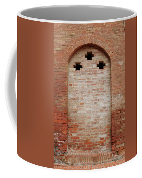 Europe Coffee Mug featuring the photograph Italy - Door Fourteen by Jim Benest