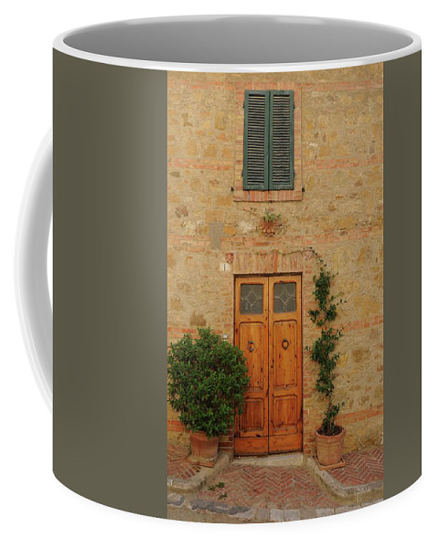 Europe Coffee Mug featuring the photograph Italy - Door Nine by Jim Benest
