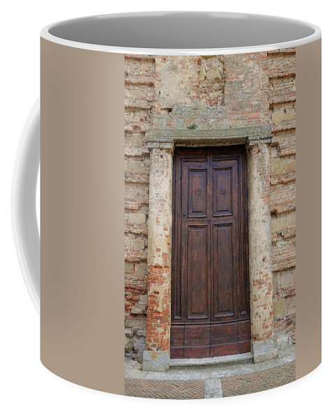 Europe Coffee Mug featuring the photograph Italy - Door Nineteen by Jim Benest