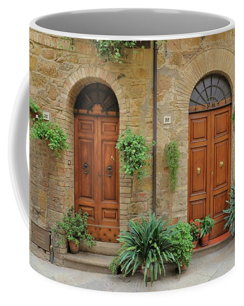Europe Coffee Mug featuring the photograph Italy - Door Seventeen by Jim Benest