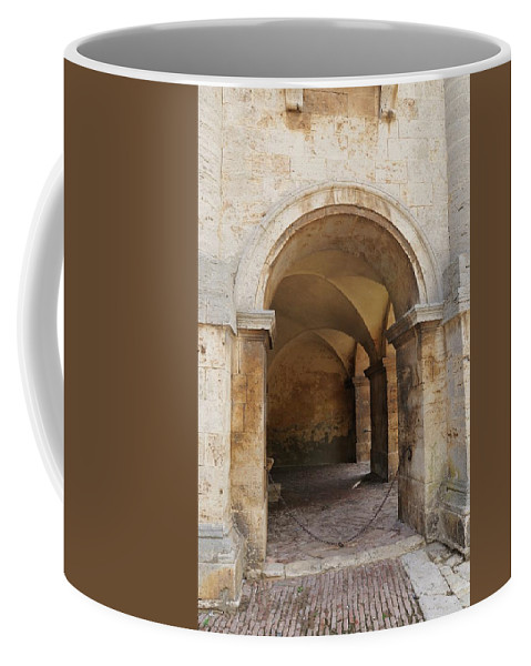 Europe Coffee Mug featuring the photograph Italy - Door Sixteen by Jim Benest