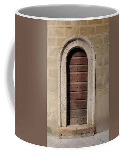 Europe Coffee Mug featuring the photograph Italy - Door Ten by Jim Benest