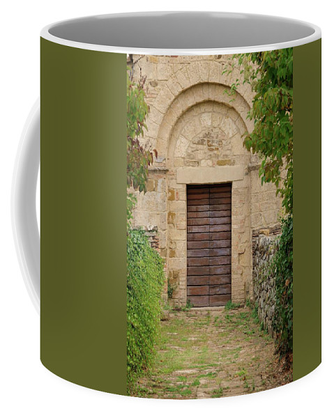 Italy Coffee Mug featuring the photograph Italy - Door Twenty Five by Jim Benest