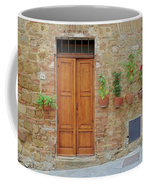 Europe Coffee Mug featuring the photograph Italy - Door Twenty by Jim Benest