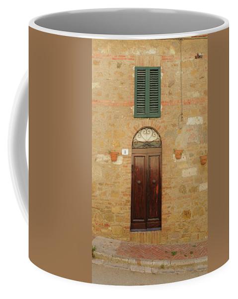 Europe Coffee Mug featuring the photograph Italy - Door Twenty One by Jim Benest