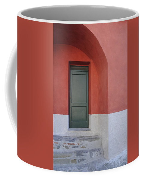Europe Coffee Mug featuring the photograph Italy - Door Two by Jim Benest