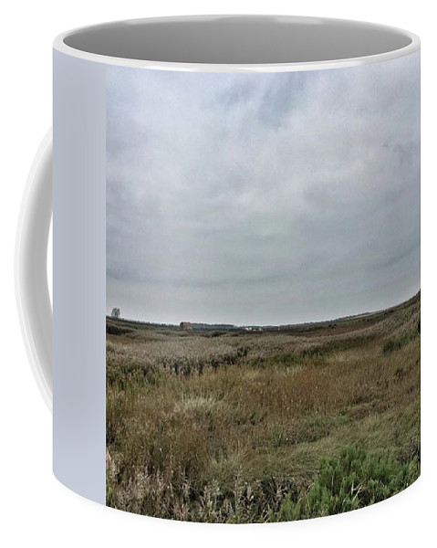Natureonly Coffee Mug featuring the photograph It's A Grey Day In North Norfolk Today by John Edwards