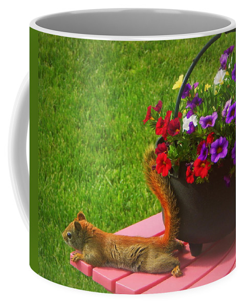 It's A Wonderful Life Coffee Mug featuring the photograph It's A Wonderful Life by Karen Cook