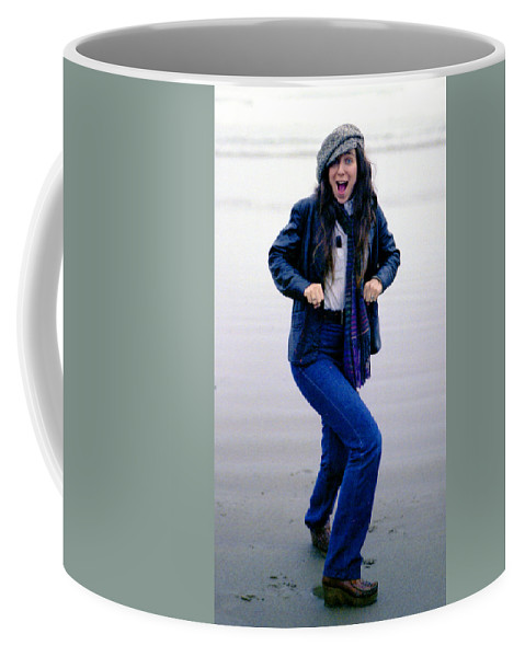 Portrait Coffee Mug featuring the photograph J. R. by Lee Santa