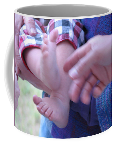 Feet Coffee Mug featuring the photograph Jack's Feet by Kelly Mezzapelle