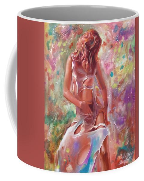 Ignatenko Coffee Mug featuring the painting Jam by Sergey Ignatenko