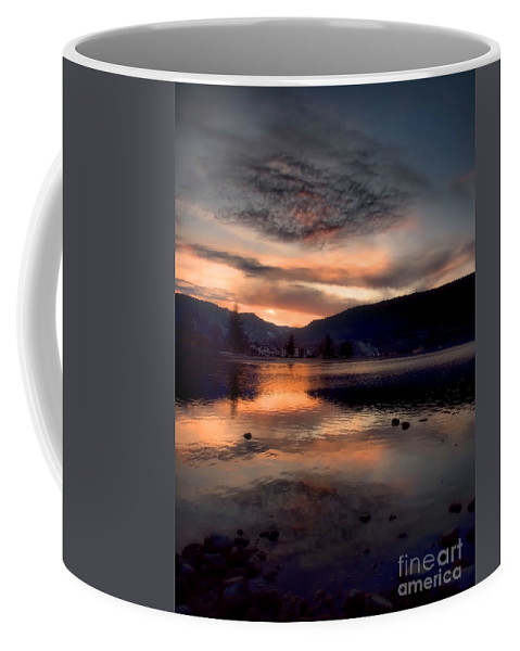 Clouds Coffee Mug featuring the photograph January 16 2010 by Tara Turner