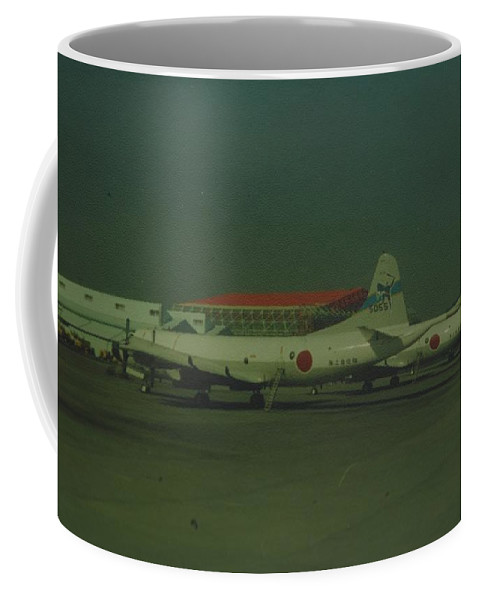 Airplane Coffee Mug featuring the photograph Japanese Airforce by Rob Hans