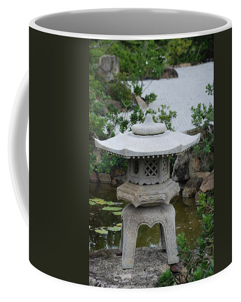Rocks Coffee Mug featuring the photograph Japanese Lantern by Rob Hans