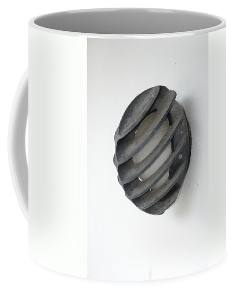 Japanese Coffee Mug featuring the photograph Japanese Shell Lamp by Rob Hans