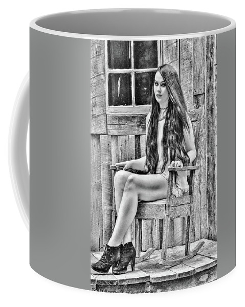 Portrait Coffee Mug featuring the photograph Jasmine by Chad Fuller