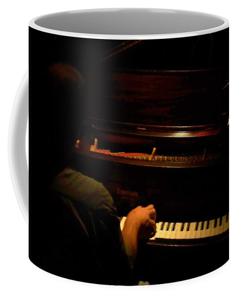 Jazz Coffee Mug featuring the photograph Jazz Estate 11 by Anita Burgermeister