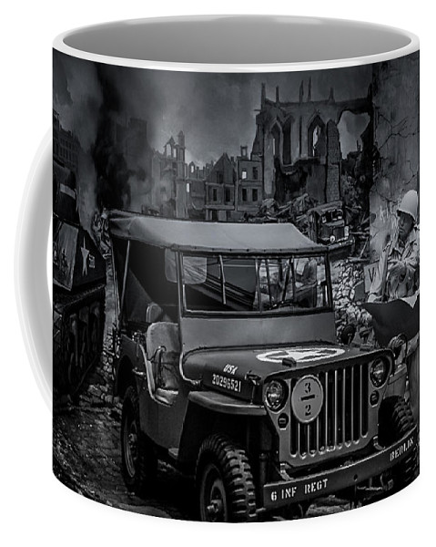 Jeep Coffee Mug featuring the photograph Jeep by Ronald Grogan