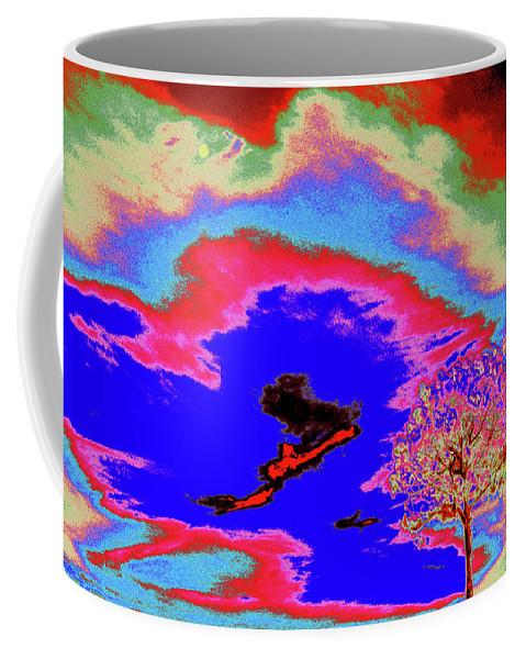 Trees Coffee Mug featuring the photograph Jelks Pine 12 by Gary Bartoloni
