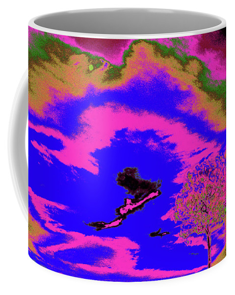 Trees Coffee Mug featuring the photograph Jelks Pine 14 by Gary Bartoloni