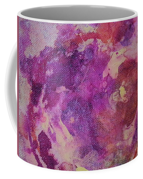Coffee Mug featuring the painting Jellyfish by Jan Pellizzer