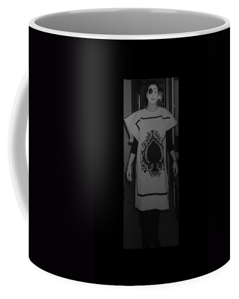 Ace Of Spades Coffee Mug featuring the photograph Jen Of Spades by Rob Hans