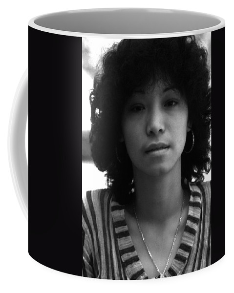 Portrait Coffee Mug featuring the photograph Jennifer by Lee Santa
