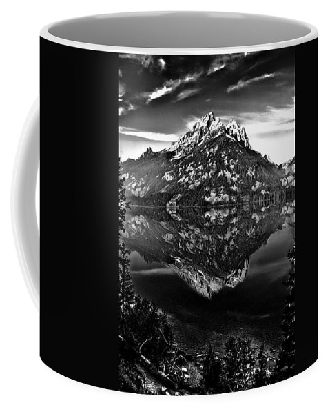 Altitude Coffee Mug featuring the photograph Jenny Lake by Maria Coulson
