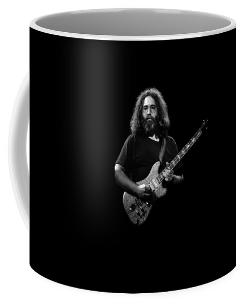 Grateful Dead Coffee Mug featuring the photograph Jerry T3 by Ben Upham