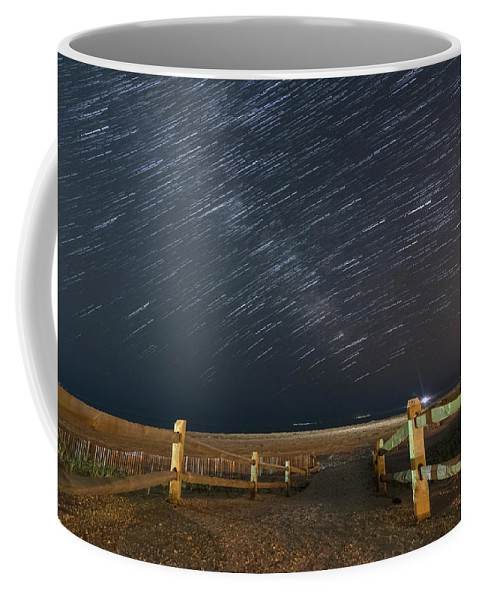 Ocean City Coffee Mug featuring the photograph Jersey Shore Nights by Kristopher Schoenleber