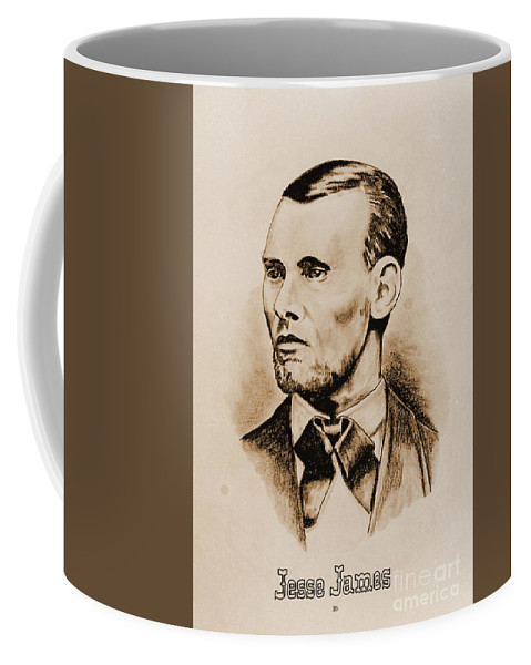 American Coffee Mug featuring the photograph Jesse James by Gary Wonning